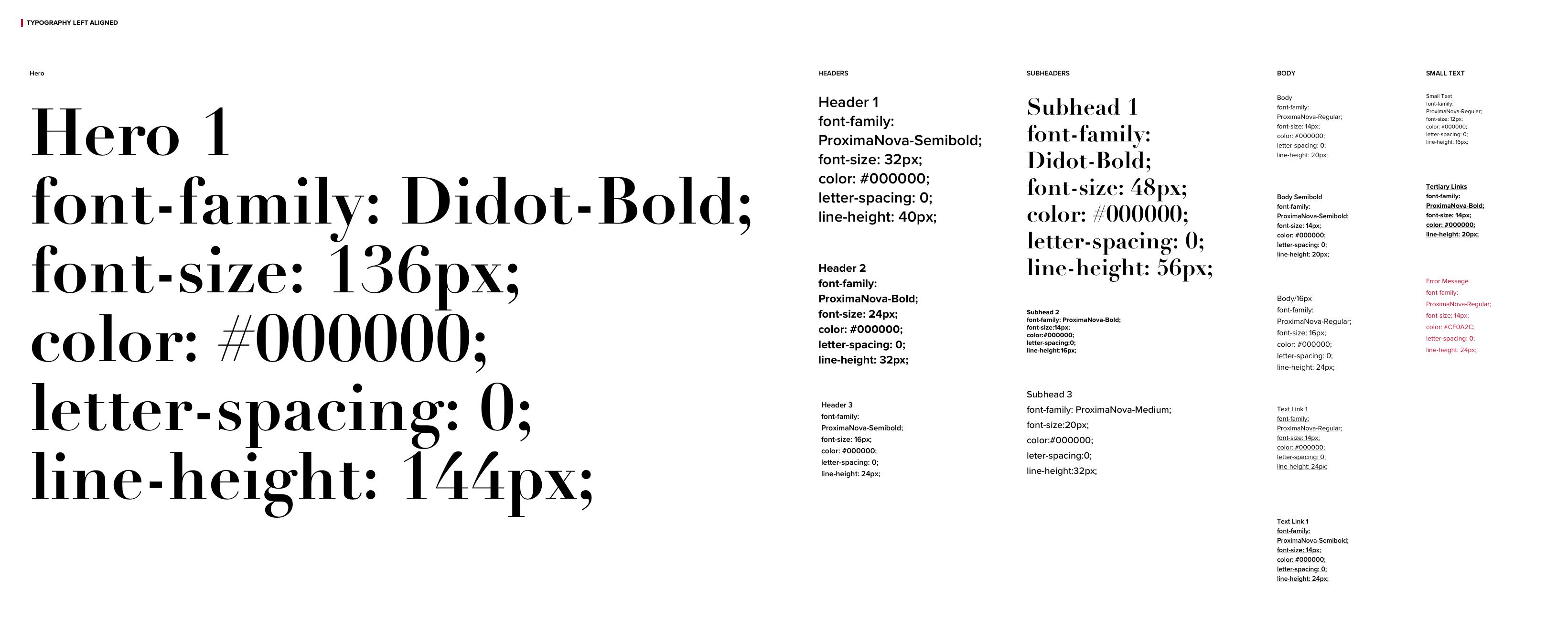 Font-Styles-Left-Aligned